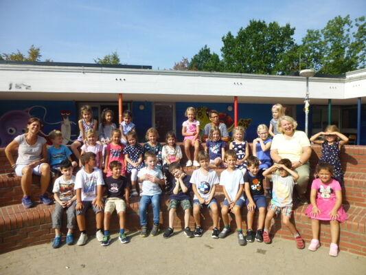 Unser erstes Klassenfoto
